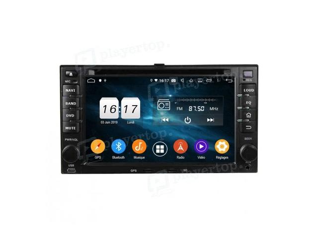 photo de AUTORADIO KIA SPECTRA GPS ANDROID