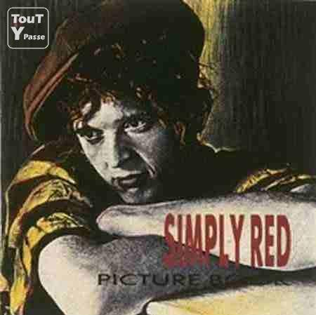 photo de CD de Simply Red Picture book