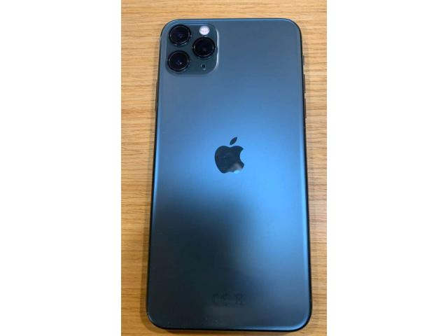 photo de IPHONE 11 PRO MAX 64 GB MIDNIGHT GREEN
