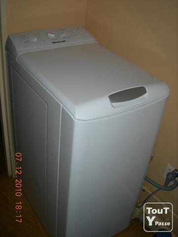photo de Lave linge top Brandt