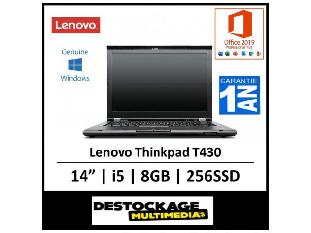 photo de PC portable Lenovo ThinkPad T430
