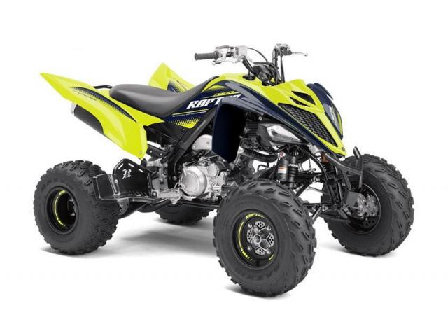 photo de QUAD 700cc RAPTOR700R-SE  JAUNE/noir 2020 neuf