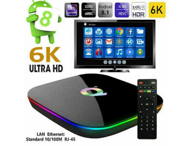 photo de Smart TV Box couleur 6K ...Q+ (4/64G) Neuve