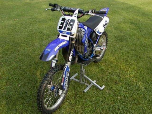 photo de yamaha yz 85 cross année2004