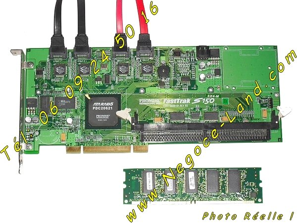 photo de Carte contrôleur ATARAID5 Promise FastTrak S150 SX4-M